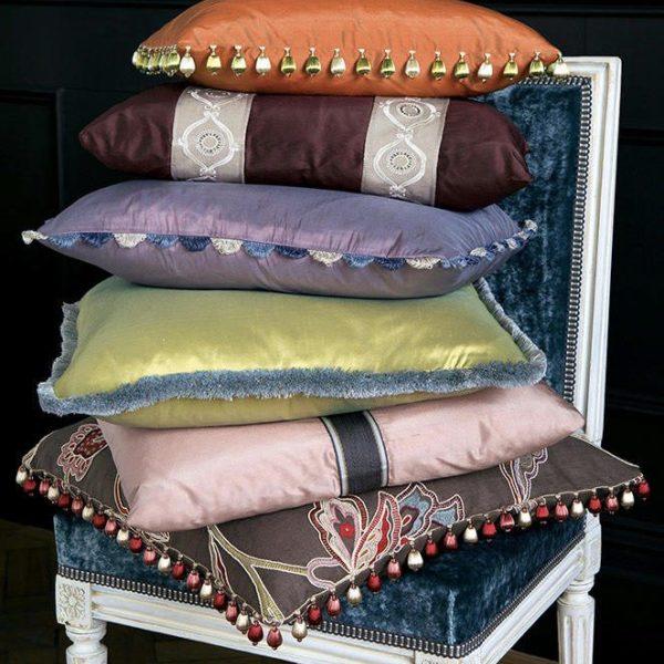 Confection des rideaux, voiles, stores et coussins